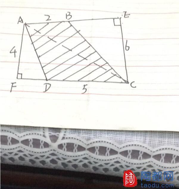 求解,求平形四边形ABCD的面积!大家一起来帮帮看看这道题目怎么做